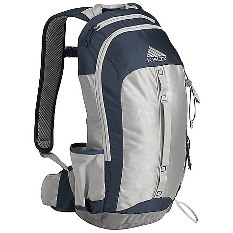Climbing Free Shipping. Kelty Orbit 15 Pack DECENT FEATURES of the Kelty Orbit 15 Pack Hydration compatible Panel loading Stretch mesh Waterbottle Pockets Ice-axe loop Rain cover Zippered waistbelt pocket Ventilating backpanel AirMesh shoulder straps, waistbelt, and lumbar Sternum strap Scherer Cinch The SPECS Volume: 900 cubic inches / 15 liter Weight: 1 lb 14 oz / 0.9 kg Dimension: 20 x 10 x 9in. / 51 x 25 x 23 cm Suspenstion: Fixed AgileSuspension System Torso Fit Range: 15.5 - 19.5in. / 39 - 49 cm Body: 330D Polyester Velocity, 210D Polyester HD Reinforcement: 420D Balistic - $119.95