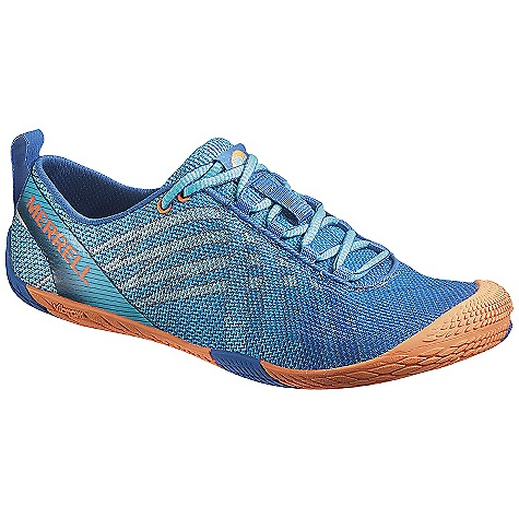 Fitness Free Shipping. Merrell Women's Vapor Glove Shoe DECENT FEATURES of the Merrell Women's Vapor Glove Shoe Barefoot construction Breathable mesh upper External TPU heel sling for contoured support Reflective details for increased visibility in low light M-Select FRESH naturally prevents odor before it starts for fresh smelling feet Integrated microfiber footbed treated with Aegis antimicrobial solution Wash as needed in cold water (gentle cycle). Air dry The SPECS Weight: 1/2 pair: 5 oz 0mm Drop / 2mm Cush / 5.5mm Stack Height Merrell Vibram Vapor Glove Sole/TC1 Rubber - $79.95