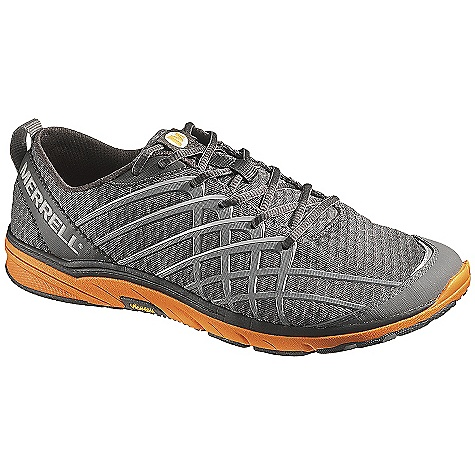 Free Shipping. Merrell Men's Bare Access 2 Shoe DECENT FEATURES of the Merrell Men's Bare Access 2 Shoe Barefoot construction Mesh and synthetic upper Reflective details for increased visibility in low light External heel stability arm Integrated microfiber footbed treated with Aegis The SPECS Weight: 1/2 pair: 7 oz 0mm Drop / 8mm Cush / 13.5mm Stack Height Bare Access 2 Sole/Vibram Pods - $89.95