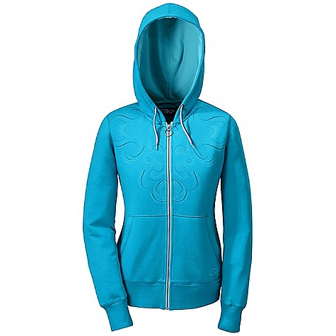 Free Shipping. Outdoor Research Women's Mosaic Hoody DECENT FEATURES of the Outdoor Research Women's Mosaic Hoody Full Center Front Zipper Front Hand Pockets Graphic Treatment Drawcord Adjustable Hood The SPECS Weight: (M): 21.5 oz / 608 g Fit: Standard 65% cotton, 35% polyester brush back fleece This product can only be shipped within the United States. Please don't hate us. - $78.95