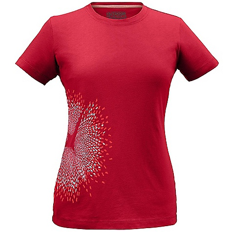 Outdoor Research Women's In Flight Tech Tee DECENT FEATURES of the Outdoor Research Women's In Flight Tech Tee Lightweight Quick Drying Wicking Fresh Guard Odor Neutralization Graphic Treatment The SPECS Weight: (M): 4.2 oz / 118 g Fit: Standard Drirelease Cotton: 85% polyester, 15% cotton fabric This product can only be shipped within the United States. Please don't hate us. - $38.95