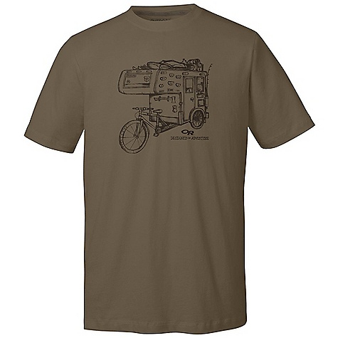 On Sale. Outdoor Research Men's Dirtbag RV Tech Tee DECENT FEATURES of the Outdoor Research Men's Dirtbag RV Tech Tee Lightweight Quick Drying Wicking FreshGuard Odor Neutralization The SPECS Weight: (L): 6.4 oz / 180 g Fit: Standard Drirelease Cotton: 85% polyester, 15% cotton This product can only be shipped within the United States. Please don't hate us. - $26.99