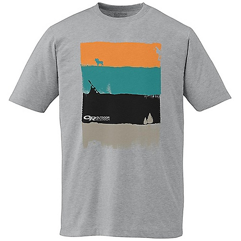 Outdoor Research Men's Sweep Tee The SPECS Weight: (L): 6.4 oz / 180 g Fit: Standard 100% organic cotton This product can only be shipped within the United States. Please don't hate us. - $34.95