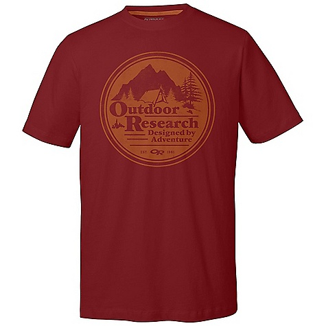Camp and Hike On Sale. Outdoor Research Men's Vintage Camp Tech Tee DECENT FEATURES of the Outdoor Research Men's Vintage Camp Tech Tee Lightweight Quick Drying Wicking FreshGuard Odor Neutralization The SPECS Weight: (L): 6.4 oz / 180 g Fit: Standard Drirelease Cotton: 85% polyester, 15% cotton This product can only be shipped within the United States. Please don't hate us. - $26.99