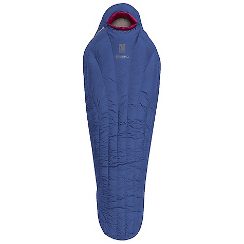 Camp and Hike Free Shipping. Sierra Designs Clo 30 Sleeping Bag DECENT FEATURES of the Sierra Designs Clo 30 Sleeping Bag Women's specific construction and warmth rating Patented vertical baffle construction Ergonomically shaped footbox Ultralight Jacket Hood Thermally efficient 40in. zipper Snag-free zipper tracks Zipper draft tube Full, corded, draft collar Draw cord at collar with captured cordlock Includes stuff and storage sacks The SPECS Temperature Rating: 30deg F / -1deg C Zipper Side: Right Shoulder Girth: 58in. Hip Girth: 58in. Footbox Girth: 39in. Fill Weight: 19 oz Trail Weight: 1 lb 11 oz Fits Up To: 5'9in. Stuff Size: 7 x 15in. Fill: 800 Fill-Power Goose Down Shell: 10D Nylon Ripstop Liner: 10D Nylon Ripstop - $499.95