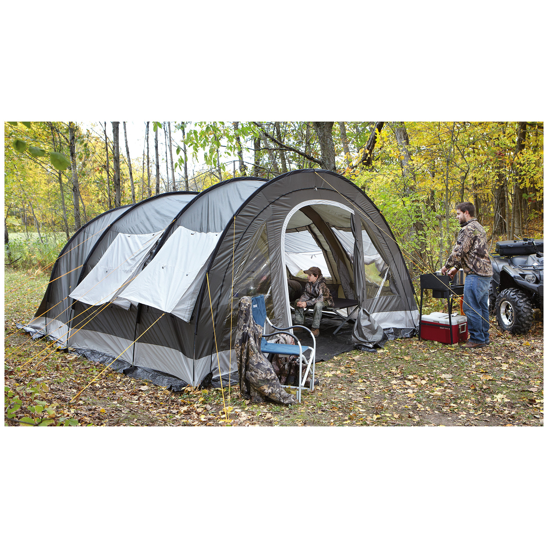 sc 1 st  Thrill On & Guide Gear Base Camp 10 Tent - $199.99 - Thrill On
