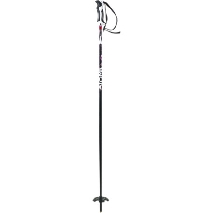 Ski The Sage Pro Ski Pole has strength, balance, and an easy touch. Its flexible Live Grip adapts to fit any hand size for security without stranglehold. Rip big lines and go hugeand skip the sweaty hike to retrieve rogue gear. - $39.00