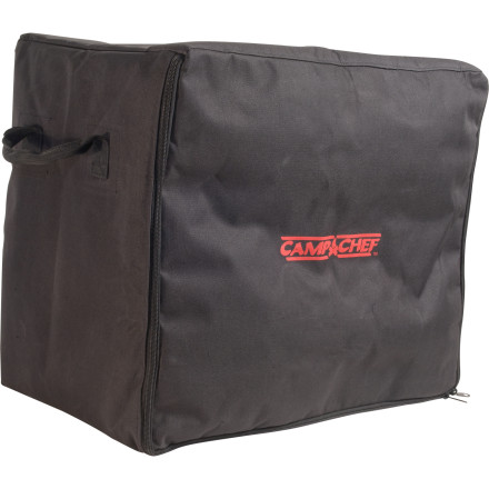 Camp and Hike Slide your Oven into the Outdoor Camp Oven Bag and keep it nice and safe for the drive down to Moab. You spent a pretty penny on that cooker, so treat it to this tough, lightly padded storage bag. A weather-resistant liner keeps water from creeping in and doing damage when you're out in the wild. - $40.95