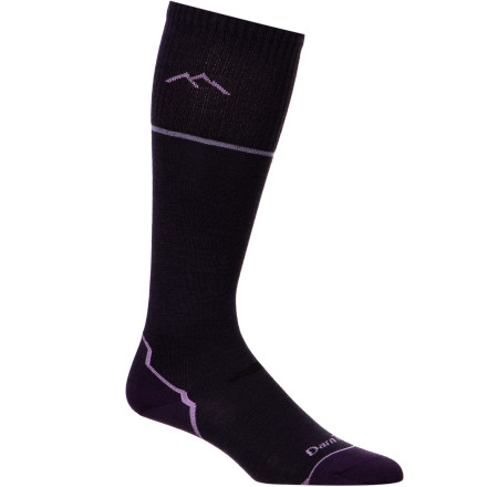 Ski Made from a soft merino wool blend, the Darn Tough Women's True Seamless Over-The-Calf Ultra Light Ski Sock is the perfect complement to the precise fit of your ski boots. The seamless design increases comfort and the tight knit provides enough durability for multiple seasons of use. - $22.95