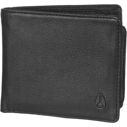 Entertainment Nixon made the Men's Satellite Big Bill Bi-Fold ID Coin Wallet with a zip-close coin pocket and a removable slim wallet that holds your ID and credit cards. Use the Satellite Big Bill Bi-Fold's coin pocket to keep your just-in-case item safe and secure when you're getting ready for a first date. If you're just heading out with buddies, stash three cards and your ID in the Nixon Satellite's removable, low-profile wallet and leave your cash and extras at home. - $33.96