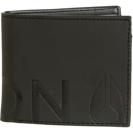Entertainment The Nixon Rubber Fuller Bi-Fold Zip Wallet raises the style bar by moving above the blas of leather and the fraud that is faux. From the moment you transfer your debit cards, your cash, and the library card youve never used into your new Fuller Wallet, you will feel like a man who has risen above the ordinary. - $24.95