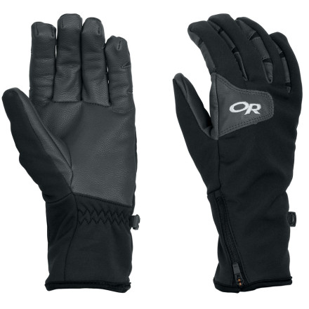 Ski Get breathable yet wind- and water-resistant protection on your next backcountry adventure with the Outdoor Research Women's StormTracker Glove. This versatile glove features WindStopper Soft Shell fabric for comfortable, reliable protection from the elements; a tricot lining adds extra warmth an wicking capabilities. - $69.95