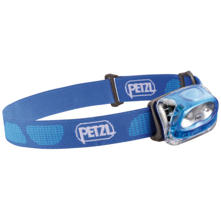 Climbing Petzl Tikkina 2 Headlamp weighs almost nothing, lasts up to 190 hours and shines up to 23 meters to get the job done for hikers, backpackers, and climbers. Two LED bulbs feature high and low modes to let you save batteries or give you more power depending on your needs. - $19.95
