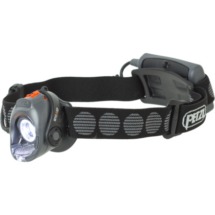 Climbing The Petzl MYP RXP Headlamp is the first multi-sport headlamp that allows you to customize light settings for changing conditions and activities. Select three different power modes from ten different light levels, from 13 to 205 lumens. This programmable function lets you customize the headlamp for everything from a nighttime training run to a multi-day adventure race. - $89.95