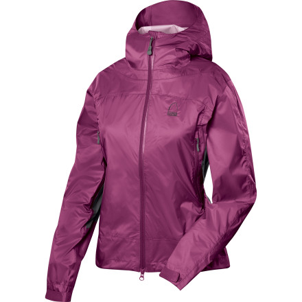 Fitness You're equipped for falling barometric pressure when you have the Sierra Designs Wicked Jacket tucked into your pack. When the storm hits, you can count on the stretchy Wicked Jacket for waterproof breathable protection to keep you dry and comfortable without swaddling you in stiff, uncomfortable fabric. - $74.47