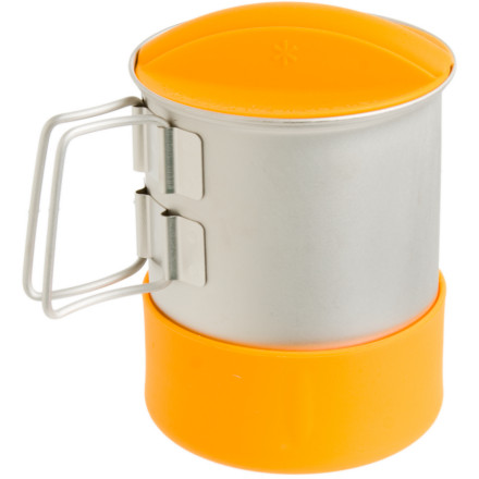 Camp and Hike When its time for some one-on-one time with Mother Nature, grab your Snow Peak Mini Solo Hybrid Cookset and head for the hills. A titanium pot and silicone cup offer durability in rough conditions and temps. A single nested unit leaves room for a backpacking stove (sold separately). - $49.95