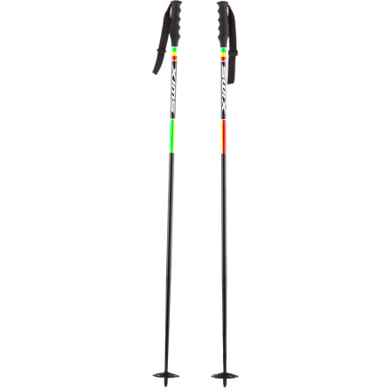 Ski With the Swix One Love Ski Pole in the palm of your hand, you strategically make your way through the tight trees and find a downed tree to slide up and over. These lightweight, durable, and solid poles feature a D4 handle for comfort and a Saturn basket system for all-mountain versatility. - $41.56