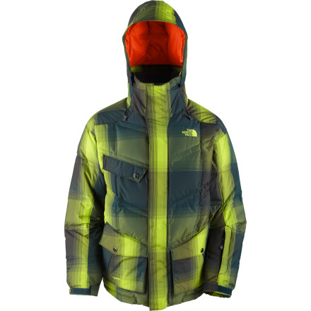 Your roommate totally lamed-out (it's too cold out ... I'm tired ... blahblahblah). Pull on The North Face Gitter Down Jacket and make sure to send him plenty of powder videos in-between flotations. - $139.58