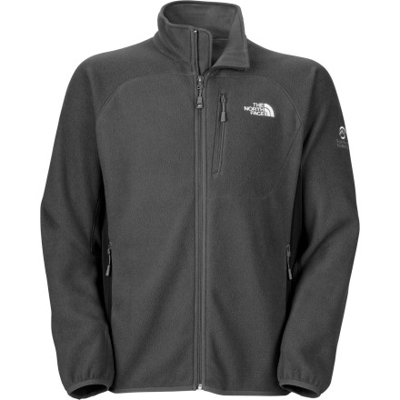 The North Face Vicente Fleece Jacket gets right down to business. This no-nonsense features the reliable construction and toasty fleece that you've come to trust, without the unnecessary bells and whistles. Layer over it during a push for the summit, or wear it solo around campus. - $109.95