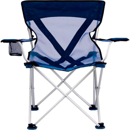 Camp and Hike Light the grill, take a brew from the cooler, and plop down on the TRAVELCHAIR Teddy Aluminum Frame Camp Chair, the throne of your portable paradise. Whether you're settling in at camp, pre-gaming in the parking lot, or just waiting for the brats to cook in the backyard, this aluminum chair provides a comfy, stable place to relax. - $71.99