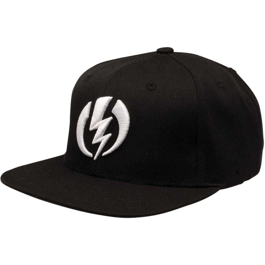 Snowboard The Electric FF AMP Snapback Hat features a classic snap back fit with a high raised embroidered logo. The FF Amp is a mix between wool and acrylic for some extra warmth and breath ability.Turn up the Amp with Electric. - $23.95