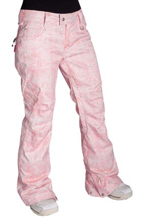 Ski Betty Rides Acid Wash Skinny Jean Print - $64.00
