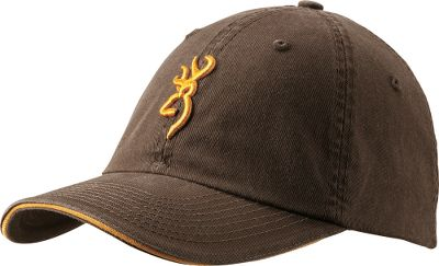 Hunting This cap features the iconic Browning Buckmark on front in raised 3-D embroidery. Six-panel construction with low-profile crown. Adjustable hook-and-loop closure for a custom fit. Pre-curved brim. One size fits most. Imported. Colors: Brown, Khaki, Olive. Type: Caps. Size: One Size Fits Most. Color: Khaki. Size One Size Fits Most. Color Khaki. - $13.49