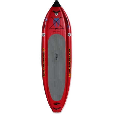 Surf Pushing the envelope to create a tougher, more maneuverable, and higher floating inflatable paddleboard, adventure-ready Badfish 10 ft. 6 in. MCIT is right at home in moving currents and swift waters. - $1,085.93