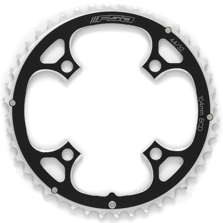 MTB Precision CNC-machined 7075/T6 mountain bike 44-teeth chainring is ramped and pinned for perfect shifting. - $12.93