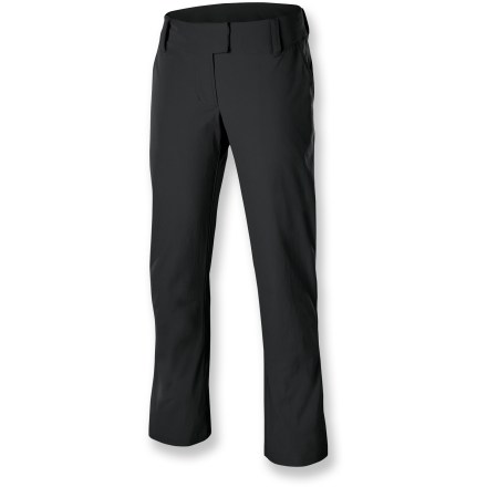 Camp and Hike Like to travel? So do these pants. Pack along the Isis Portofino pants and be ready for adventure! High-stretch fabric moves with you on your jaunts near or far. Easy care fabric packs well, resists wrinkles. Hidden waistband pocket keeps essentials close. Rise of the Isis Portofino pants sit below the waist, just at your belly button; longer rise in back. - $44.83