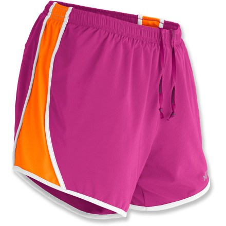Fitness The Marmot Propel shorts for women are built to keep you comfortable during fast-paced trail runs. Quick-drying, moisture wicking fabric lends a high degree of stretch and breathability to the Marmot Propel shorts. Stretchy liner increases comfort, wicks moisture and dries quickly; mesh side panels enhance ventilation. Interior gusset features a quick-drying, highly breathable CoolMax(R) polyester fabric patch. Fabric protects skin from harsh UV light with a UPF rating of 30. Dial in the fit with the elastic drawcord waist. Internal pocket stashes a key. Marmot Propel shorts enhance visibility via reflective highlights, and they feature a 5 in. inseam. - $30.93