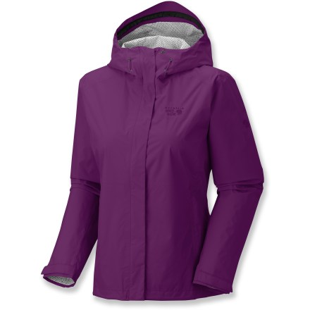 A shell is your first line of defense against harsh weather and the women's Mountain Hardwear Plasmic jacket doesn't disappoint. It keeps you safe from water and wind without being bulky or stiff. - $34.83