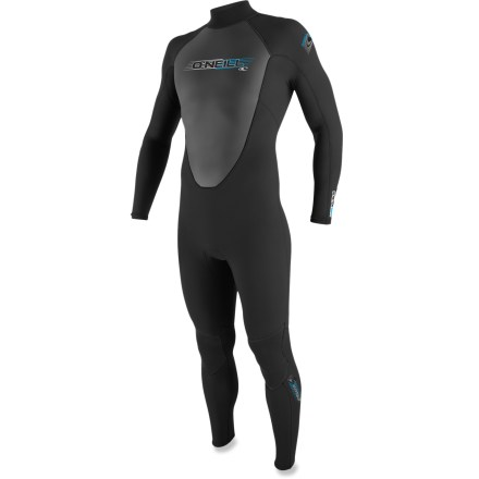 Kayak and Canoe The men's O'Neill Reactor 3/2mm full wetsuit pairs reliable warmth with excellent value. - $114.95