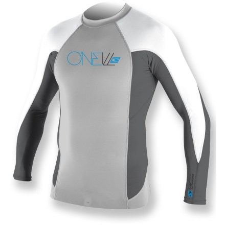 Kayak and Canoe The O'Neill Thinskins Superlite long-sleeve crew rashguard brings warmth and protection to your time on the water. - $39.83