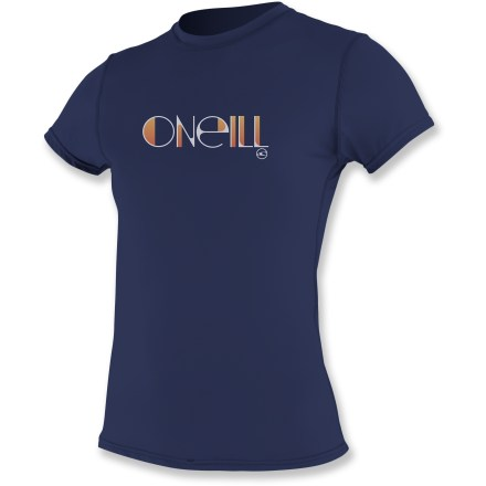 Kayak and Canoe The O'Neill Skins Rashguard T-shirt keeps you comfortably dry while you chart a course to adventure with paddle in hand. - $14.83