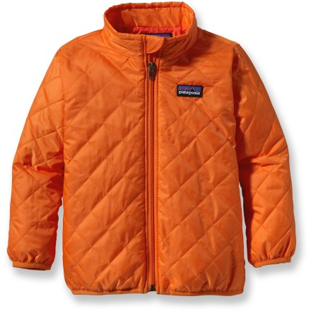 Ski The Baby Nano Puff Insulated Jacket for boys is wind- and water-resistant, and highly compressible. This warm jacket can be worn as a mid layer or as outerwear. - $38.83