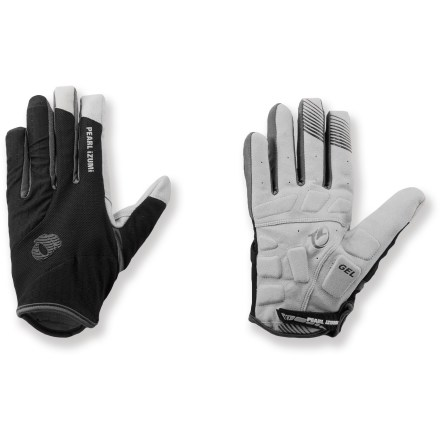 Fitness Offering full coverage, these Pearl Izumi Elite Gel full-fingered bike gloves feature strategically placed gel pads to supply comfort through the miles. - $17.83