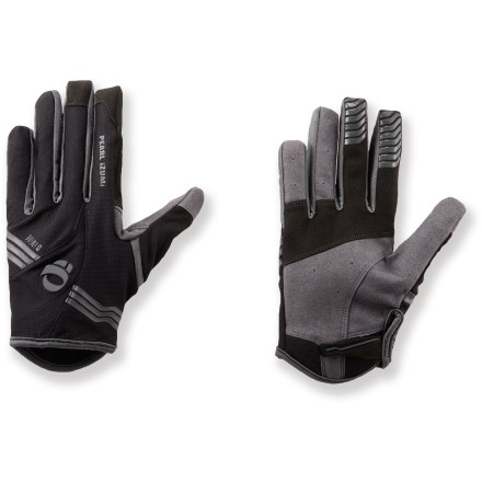 Fitness Pearl Izumi Divide bike gloves supply full-finger coverage and a close-fitting, non-padded design for great control and feel. - $13.83