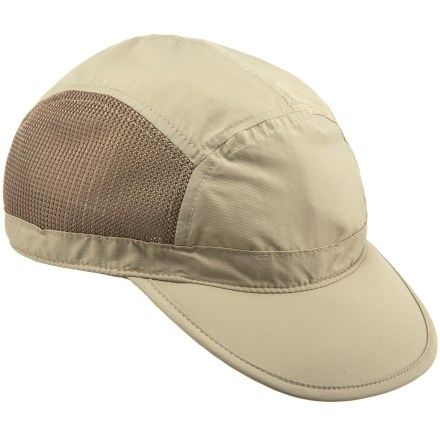 The REI Sahara River cap helps you keep a cool head while paddling on the water or logging miles on the trail. - $4.83