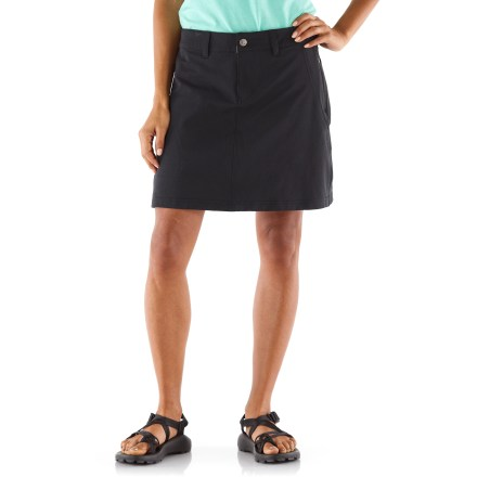The plus-size REI Rendezvous skort is an obvious choice when you're packing for any trip; it sports an easy fit, hidden pockets, and classic, low-key style that never looks out of place. - $14.83