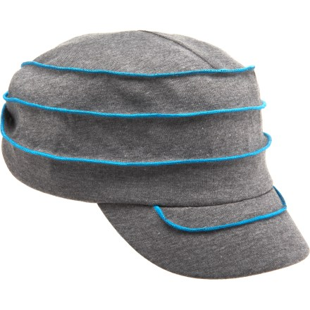 The cute and comfortable REI Jersey Exposed Seam cap keeps a girl's summer style distinctive, light and casual. - $3.83