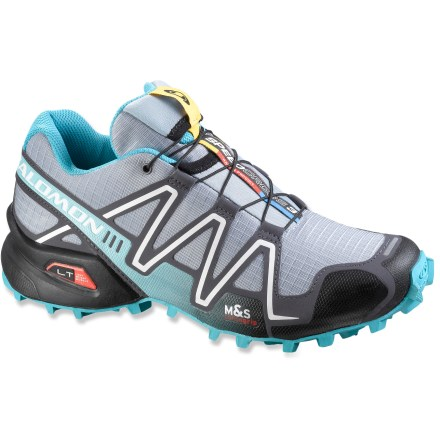 Fitness Built for trail races and fast-paced training, the women's Salomon Speedcross 3 trail-running shoes let you push your off-pavement limits. - $64.83