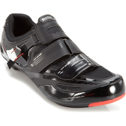 Fitness The Shimano R107 road bike shoes offer nimble, durable performance for tough training sessions as well as weekend rides with friends. - $74.83