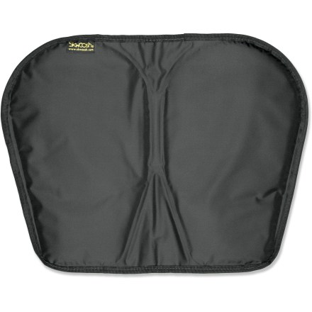 Kayak and Canoe During those long trips when no amount of fidgeting can make you comfortable, the Paddlers Supply Company SKWOOSH paddling cushion offers pressure relief in all the right places. - $49.95