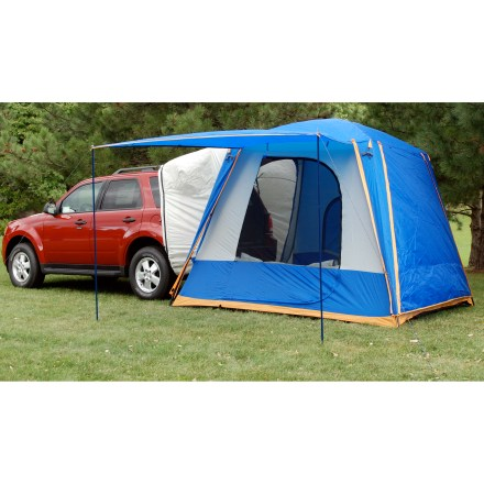 Camp and Hike The Sportz SUV 82000 Tent quickly transforms your SUV, CUV or MInivan into a comfortable home away from home. It wraps around the rear end of your vehicle and allows covered access to the interior. - $254.93