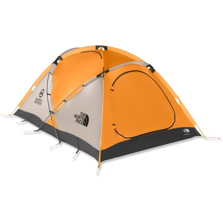 Camp and Hike This 2-person tent has an extremely strong design and features an internal guyout system that is especially valuable when snow and wind are your most formidable enemies! - $439.93