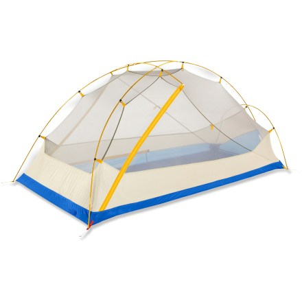 Camp and Hike The North Face Kings Canyon 2 is a roomy, freestanding backpacking tent big enough for base camp, but rugged enough for backcounty exploration. - $239.93