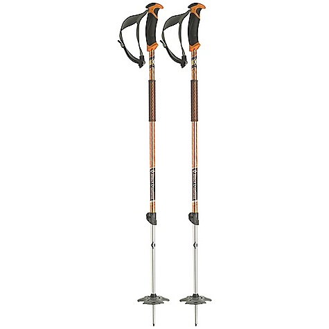 Ski On Sale. Free Shipping. Black Diamond Traverse Poles - Pair DECENT FEATURES of the Black Diamond Traverse Poles - Pair 16 mm (.63 in) aluminum upper with 14 mm (.55 in) aluminum lower Efficient Series grip with fluted interior for weight reduction Efficient Series strap with lightweight webbing and plastic ladder-lock buckle Lightweight grip extension for quick, secure choke-ups 100 mm (4 in) Powder Baskets Flick Lock adjustability The SPECS for 95 - 145 cm Usable Length: 37 - 57in. / 95 - 145 cm Collapsed Length: 37in. / 95 cm Weight: per pair: 1 lb 4 oz / 575 g The SPECS for 105 - 155 cm Usable Length: 41 - 61in. / 105 - 155 cm Collapsed Length: 41in. / 105 cm Weight: per pair: 1 lb 5 oz / 590 g - $49.99