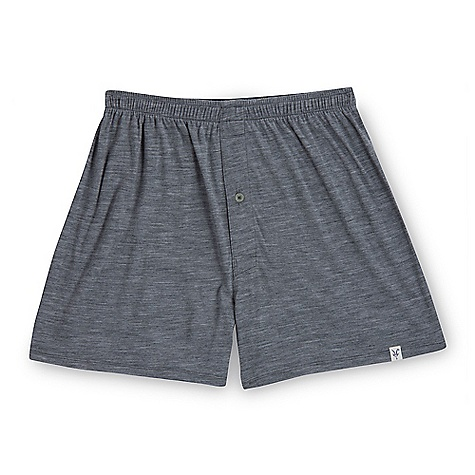 Free Shipping. Ibex Men's D-Lux Boxer DECENT FEATURES of the Ibex Men's D-Lux Boxer Relaxed fit Fly opening with button The SPECS Inseam: small: 2.5in., medium: 3in., long: 3.5in., extra long: 4in., XXL: 4in. 100% ZQ New Zealand Merino Wool 18.5 micron Lightweight Jersey 150 g/m2 - $60.00