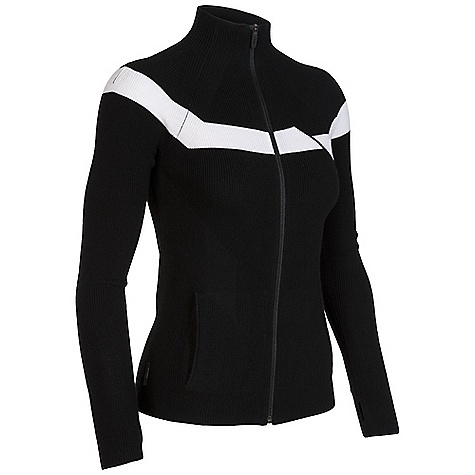 Free Shipping. Icebreaker Women's Aurora Zip DECENT FEATURES of the Icebreaker Women's Aurora Zip Knit fashioning under bust flatters Raglan sleeves with media cord loop Smooth-operating reverse coil zip Cosy thumb loops anchor sleeves - $239.95